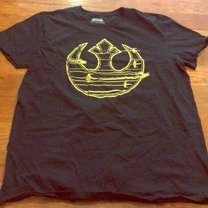 Men's large Star Wars shirt